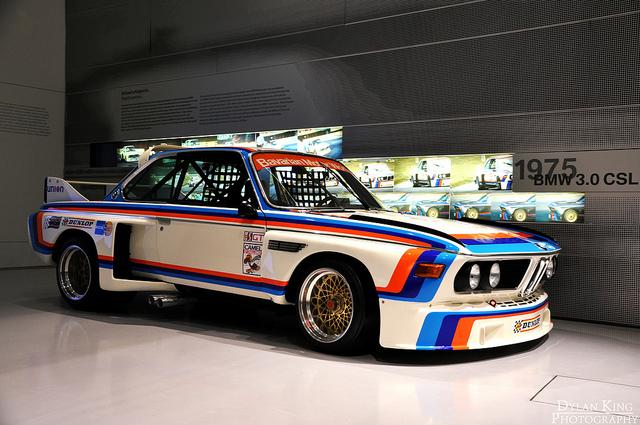 E9 CSL в музее BMW
