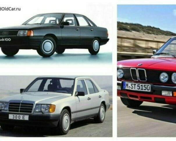 Big three BMW MB Audi
